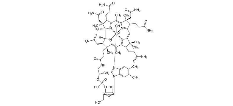 Formas de vitamina B12: Cianocobalamina